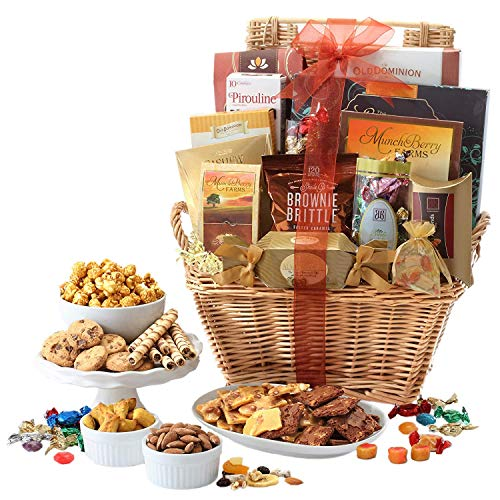 Broadway Basketeers Deluxe Gift Basket with Chocolate
