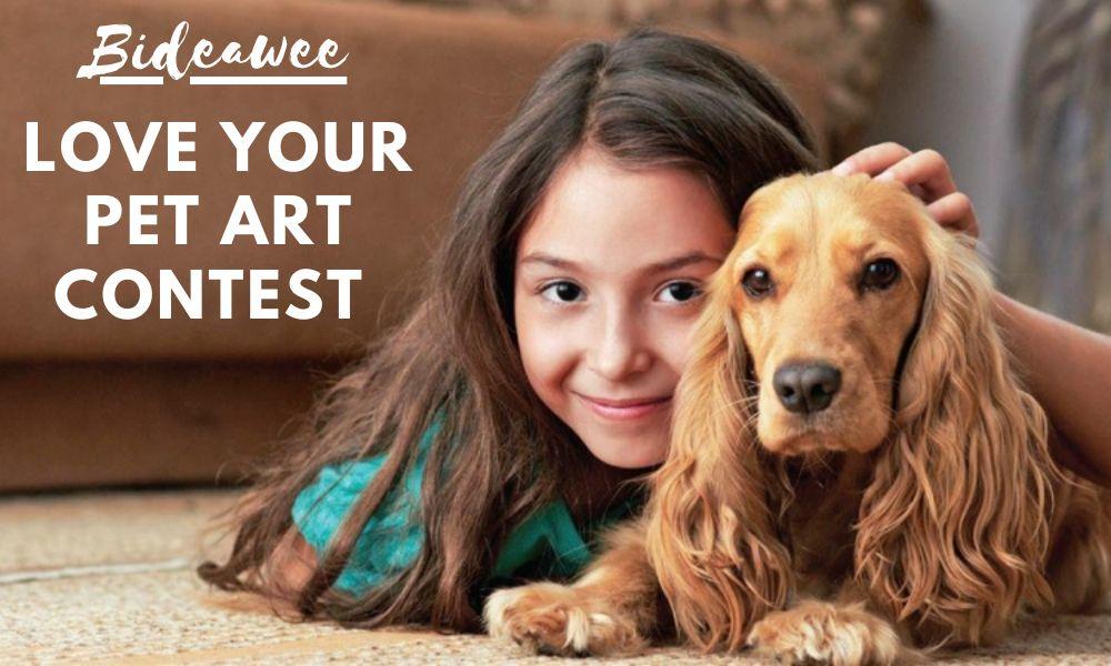 Love Your Pet Art Contest 2021