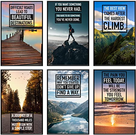 Mountaineer Motivational Posters