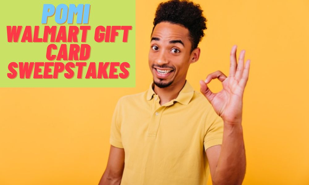 Pomi Walmart Gift Card Sweepstakes