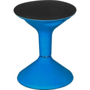Regency's Height Adjustable Blue Stool