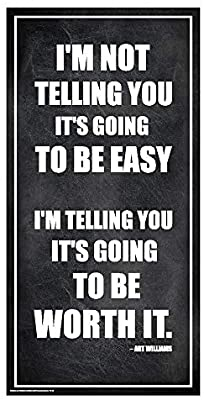 Unframed Inspirational 12x36 Inches Unframed Canvas Poster