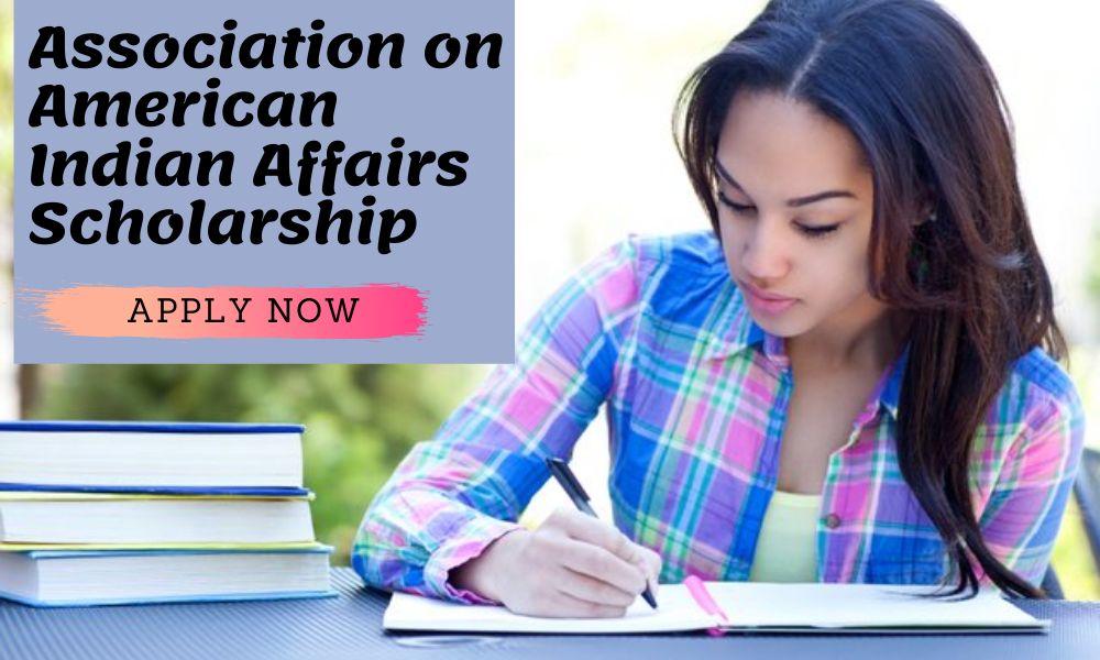 Association on American Indian Affairs Scholarship