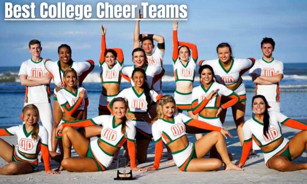 Best College Cheer Teams