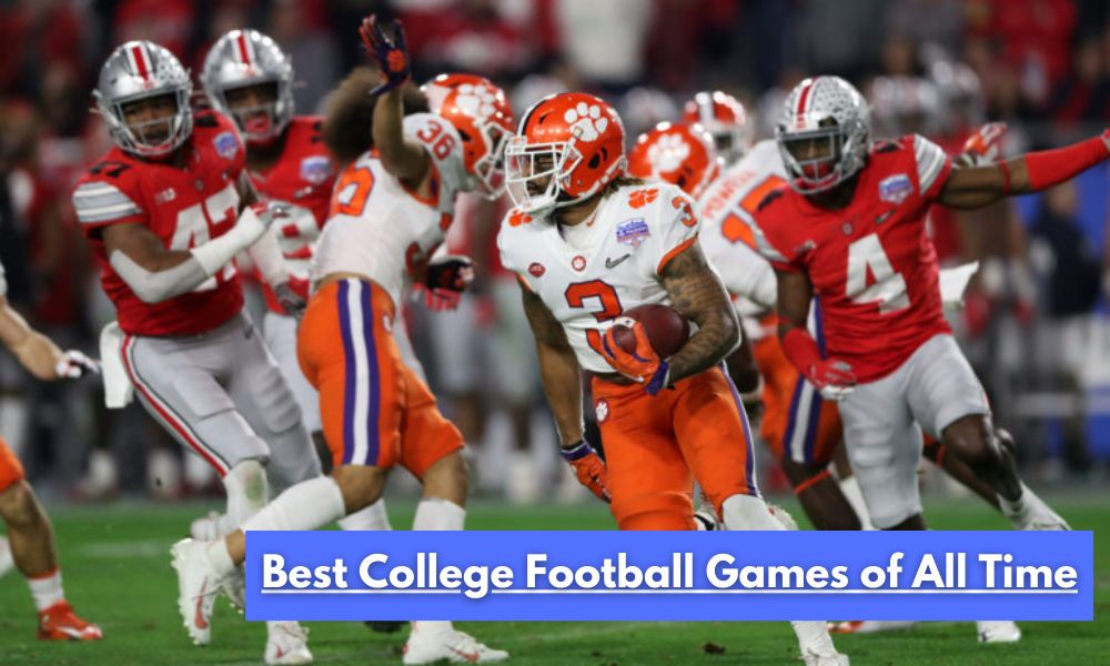 Best College Football Games of All Time 77