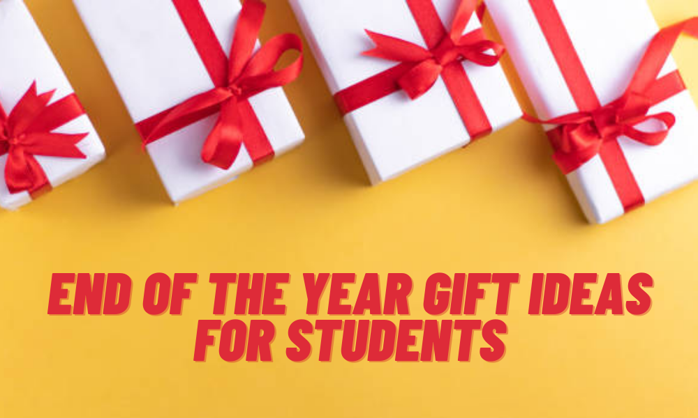 End of the Year Gift Ideas for Students