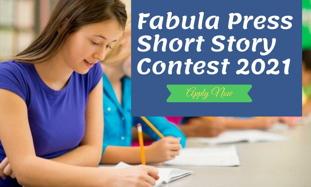 Fabula Press Short Story Contest 2021