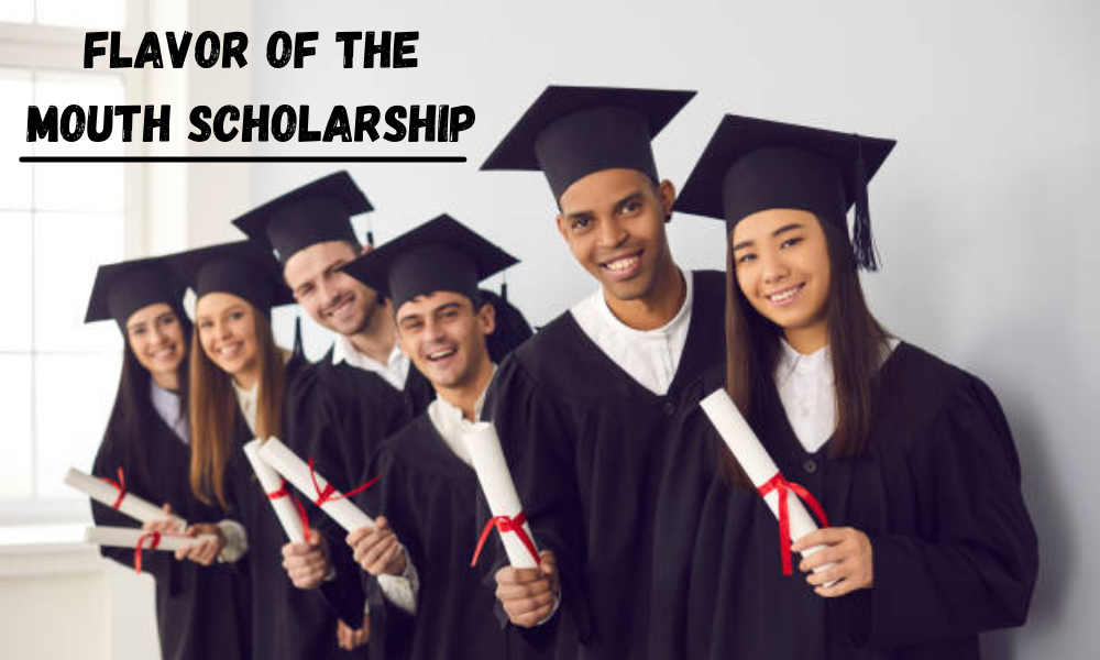 Flavor of the Mouth Scholarship