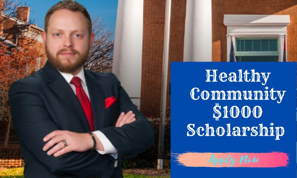 Healthy Community $1000 Scholarship 2021