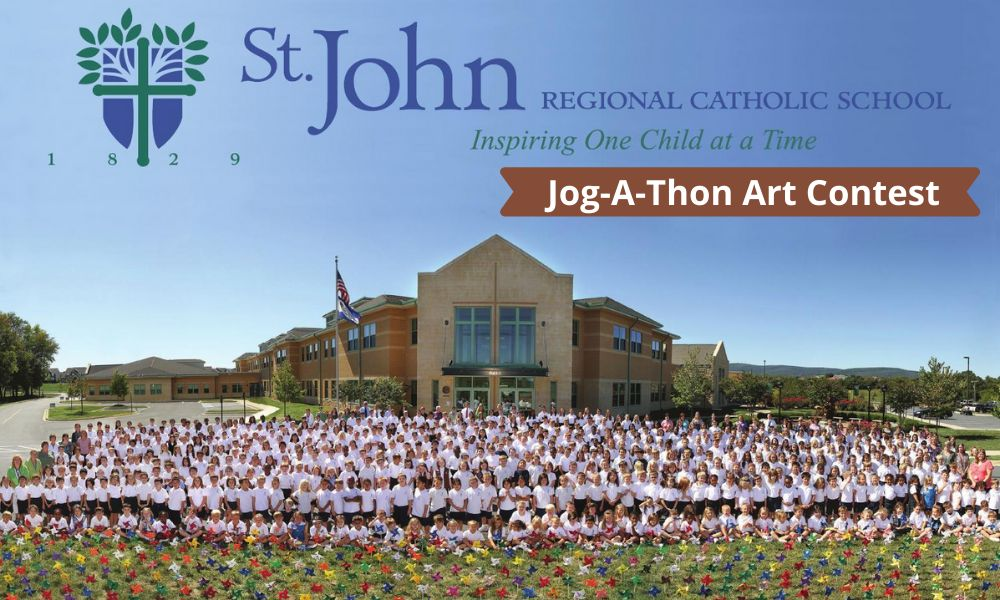 Jog-A-Thon Art Contest for Grades Pre K-7 Students