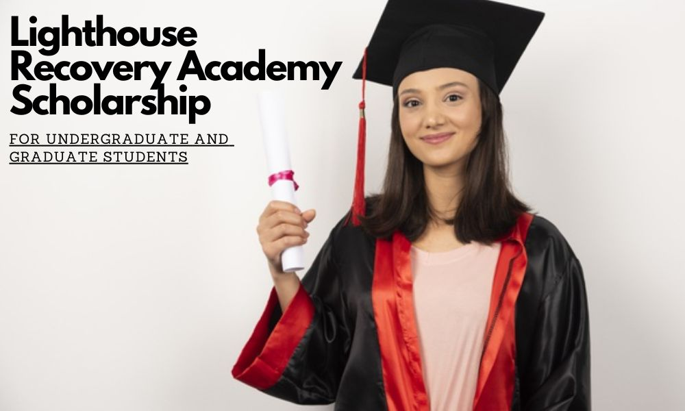 Lighthouse Recovery $2000 Academy Scholarship