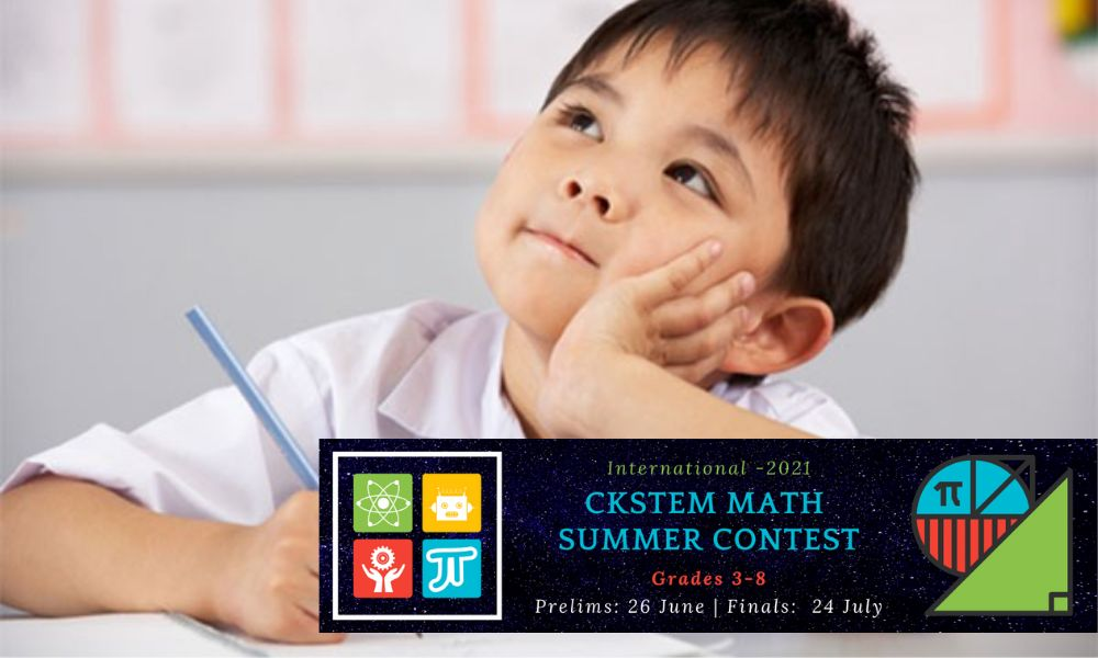 Math Summer Contest for 3 to 8 Grade Students