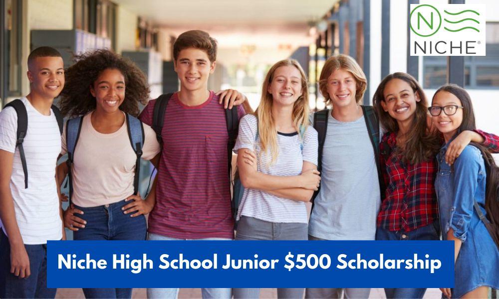 Niche High School Junior $500 Scholarship