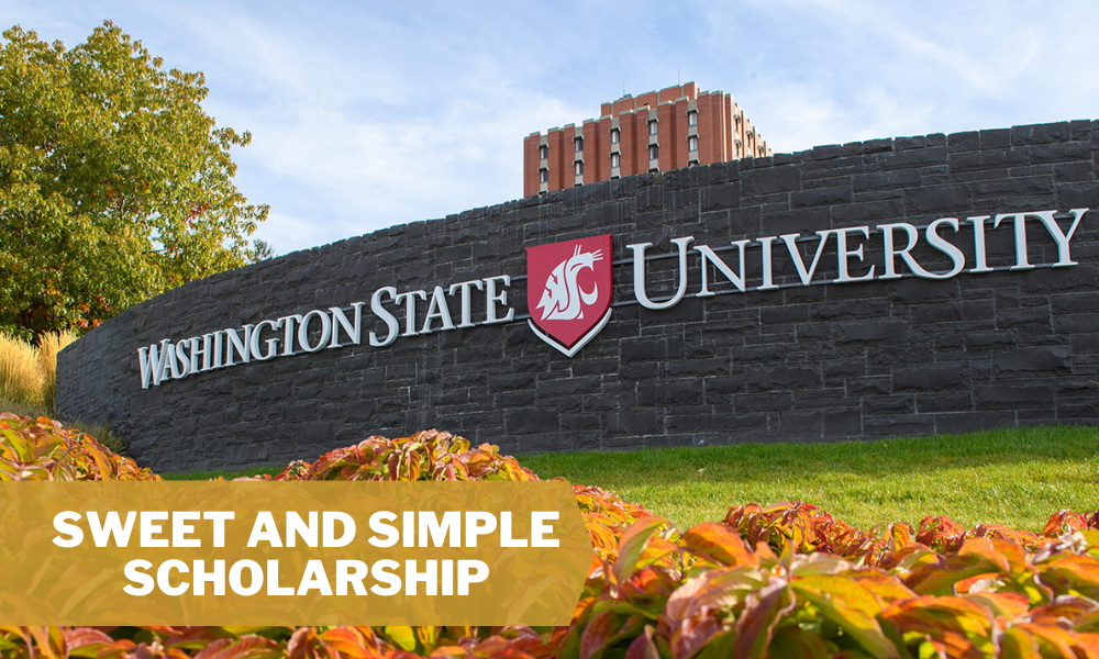 Sweet and Simple Scholarship