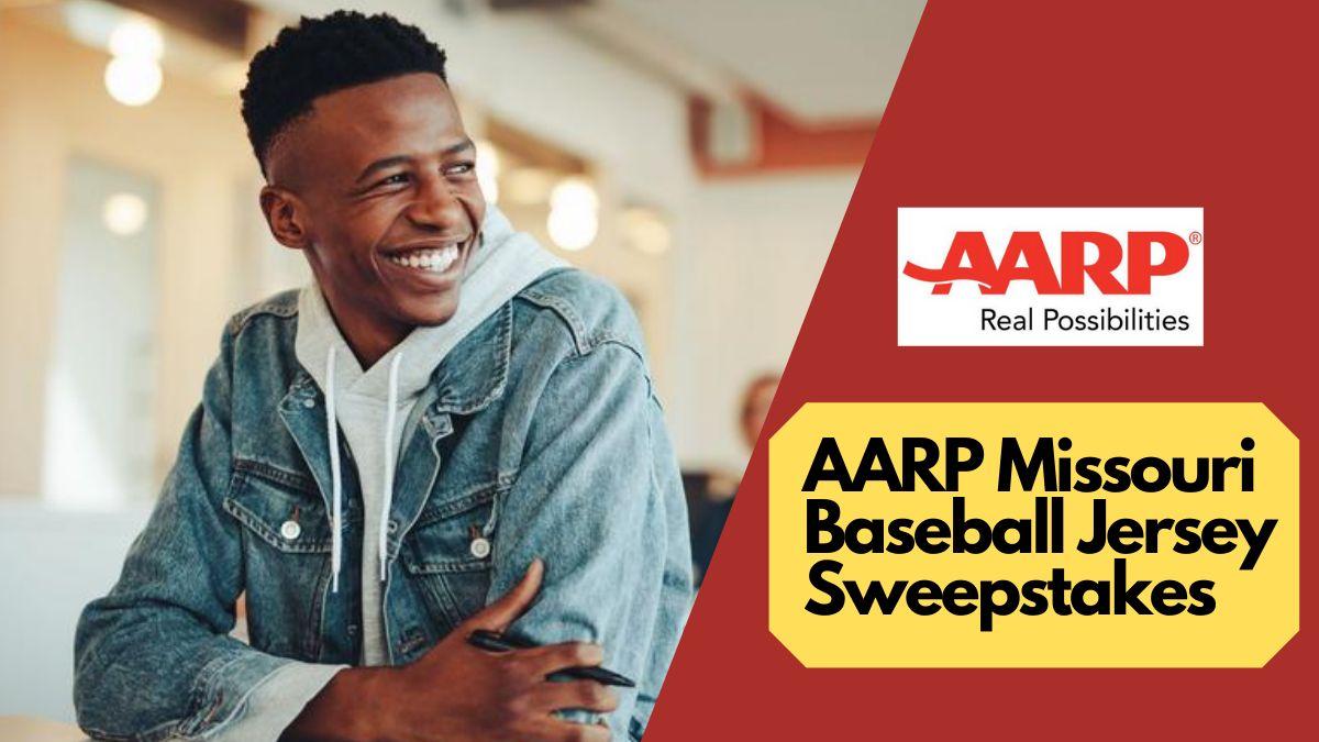 AARP Missouri Baseball Jersey Sweepstakes