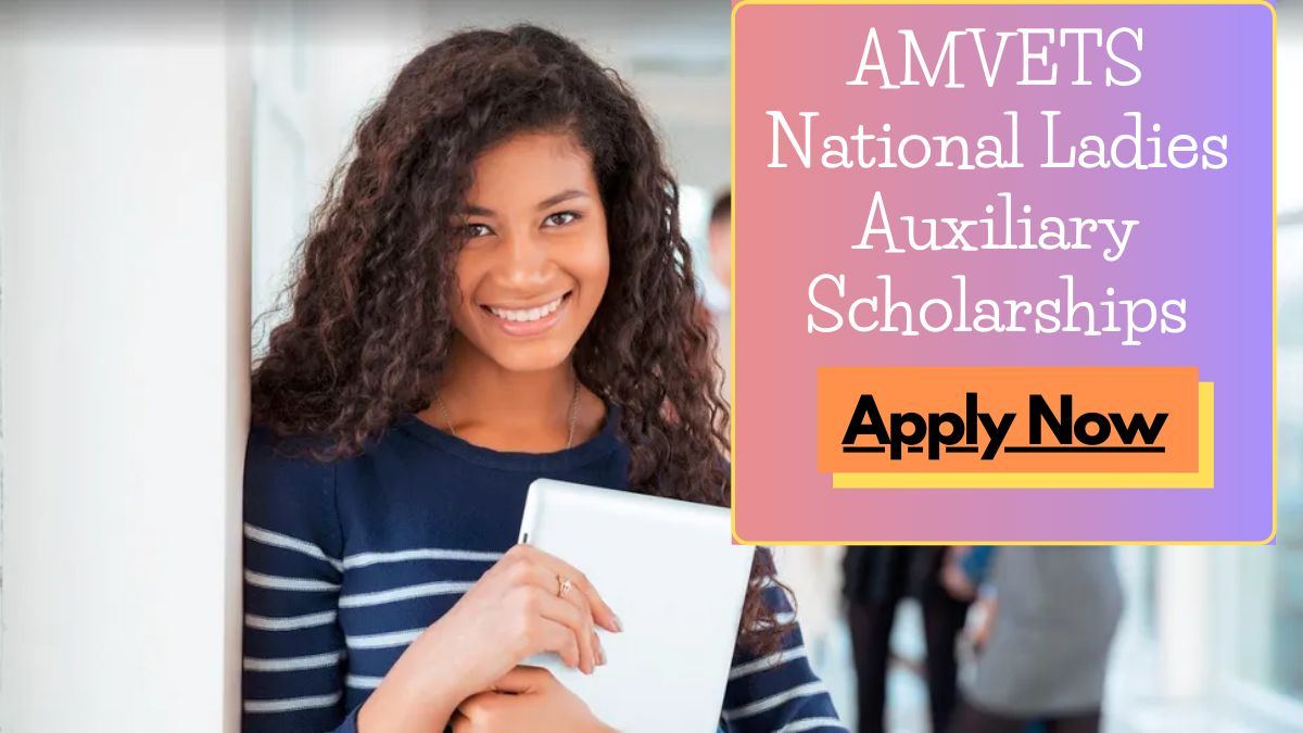 AMVETS National Ladies Auxiliary Scholarships