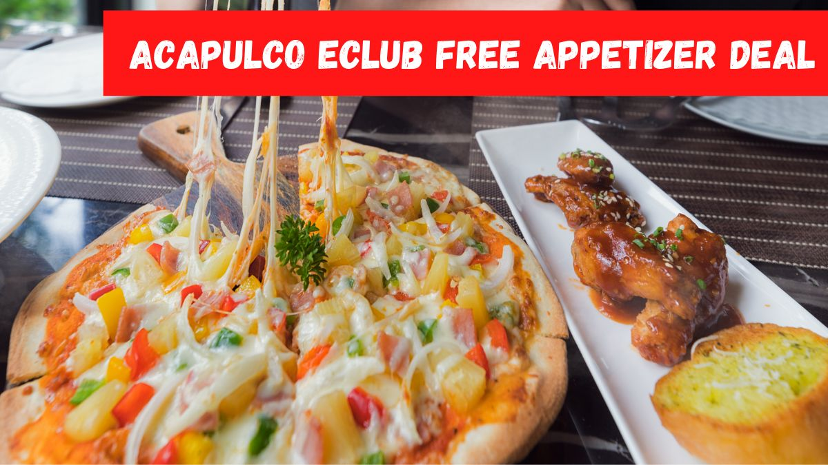Acapulco Eclub Free Appetizer Deal