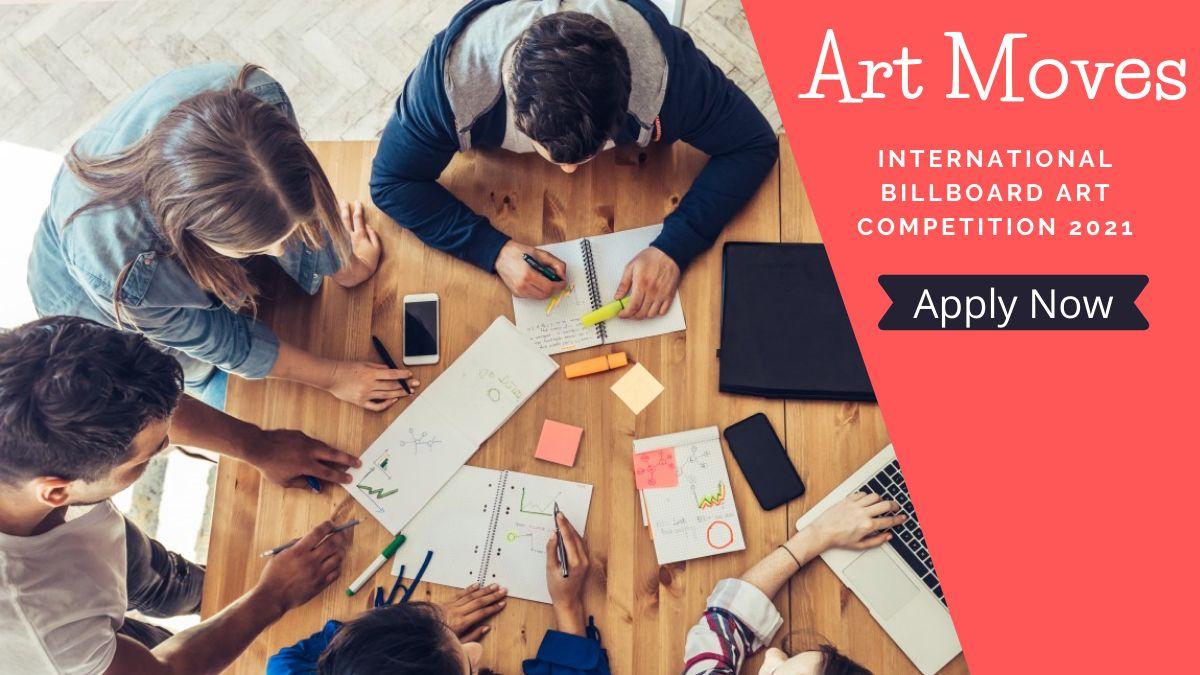 Art Moves International Billboard Art Competition 2021
