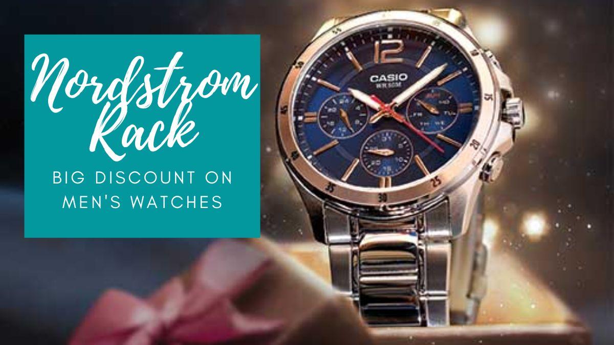 Big Discount on Men's Watches at Nordstrom Rack