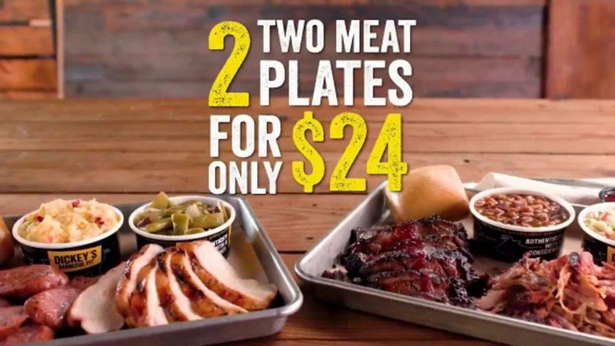 Dickey's 2 for $24 Meal DealDickey's 2 for $24 Meal Deal
