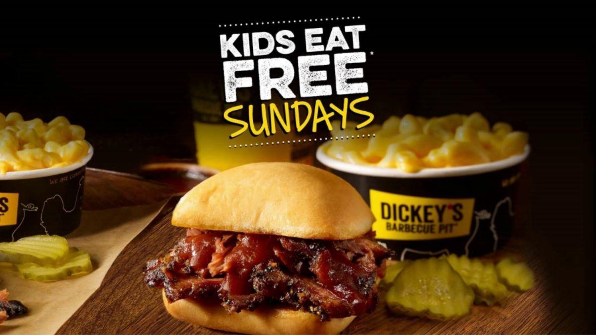 Dickey's Kids Eat Free Sunday