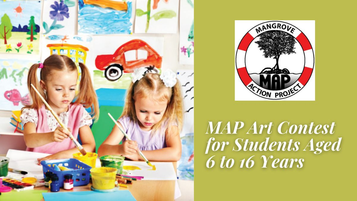 MAP Art Contest for Students Aged 6 to 16 Years