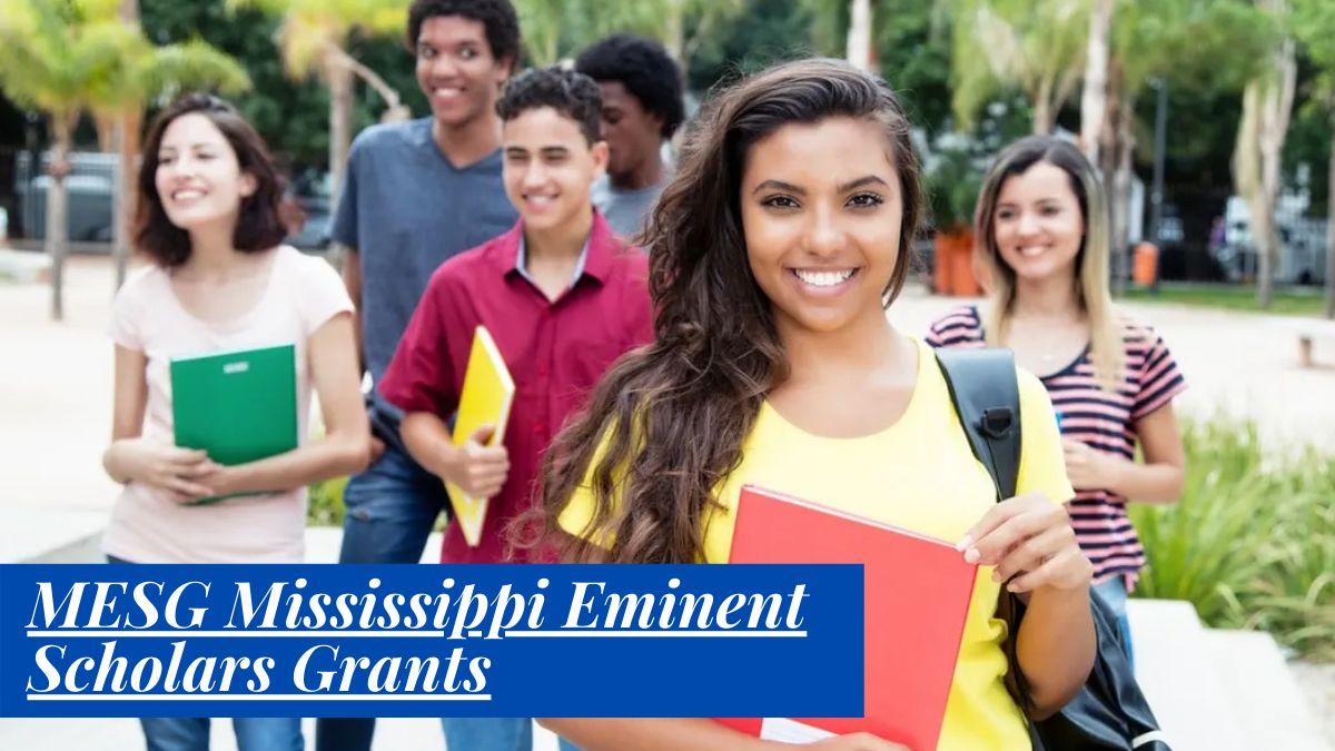 MESG Mississippi Eminent Scholars Grants