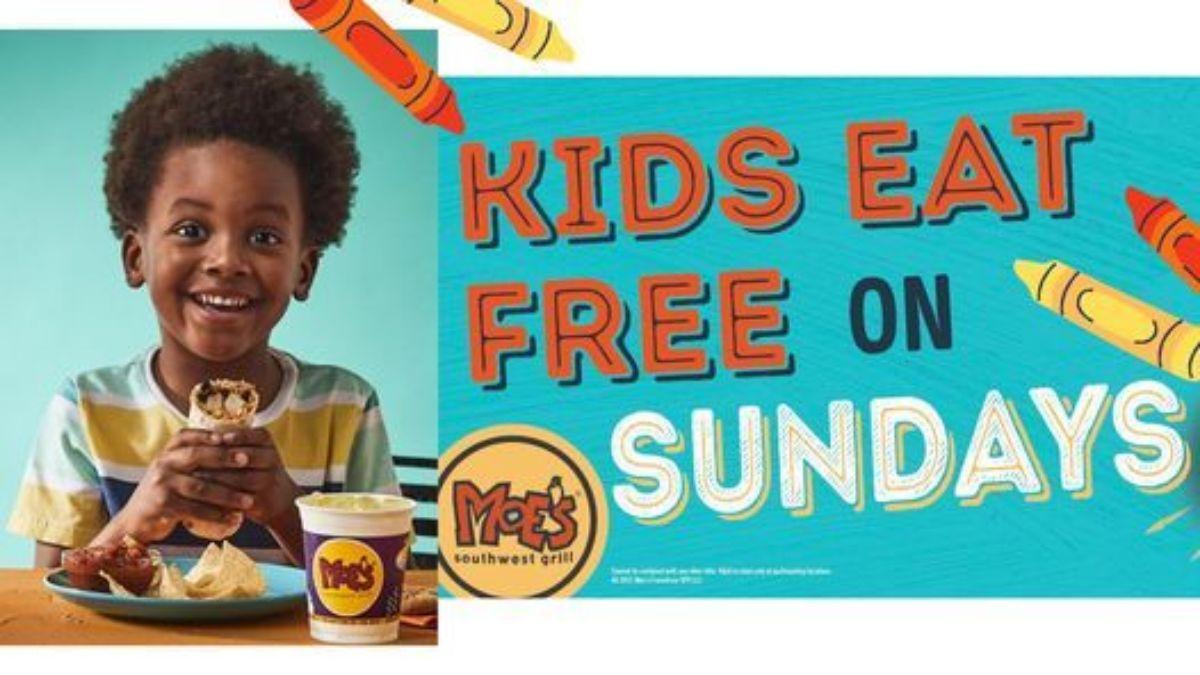 Moe's Kids Eat Free On Sundays