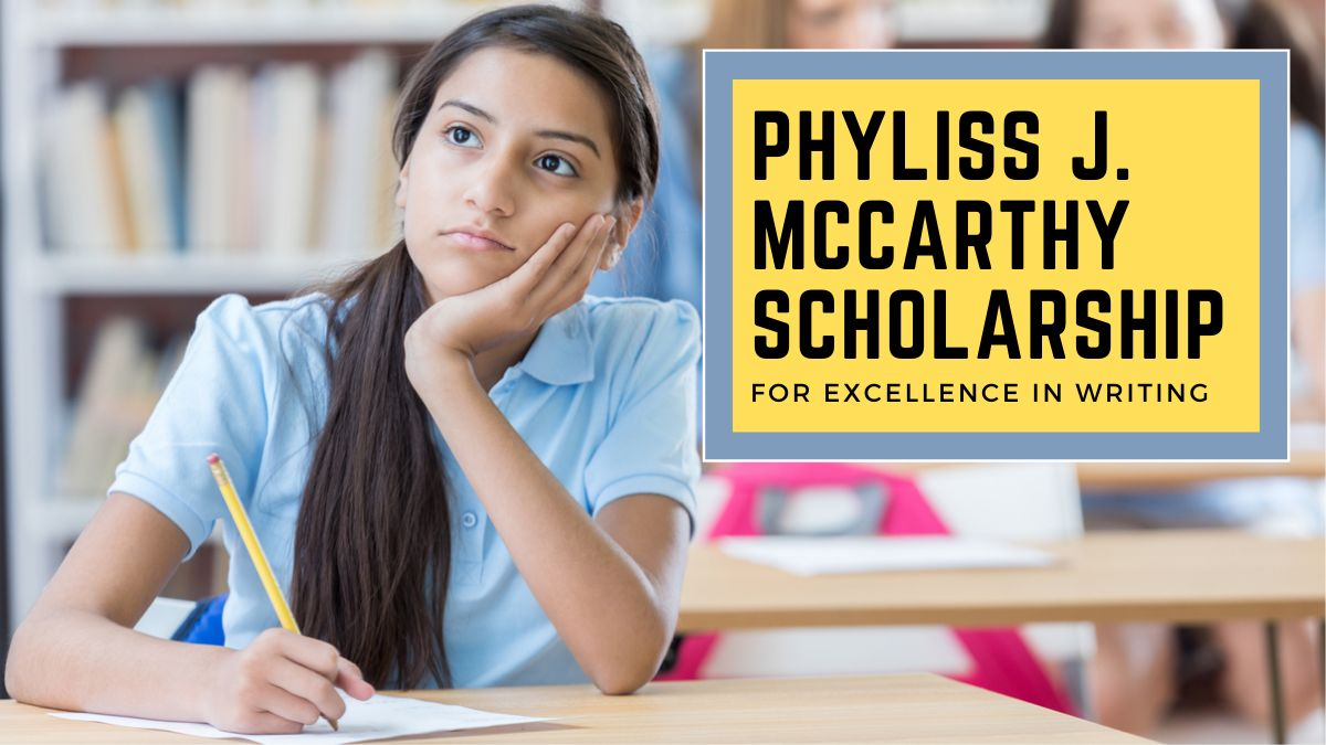 Phyliss J. McCarthy Scholarship for Excellence in Writing