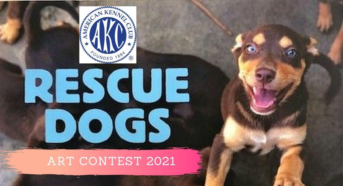 Rescue Dogs Art Contest 2021