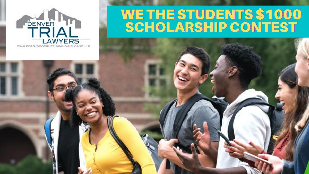 We the Students $1000 Scholarship Contest 2021
