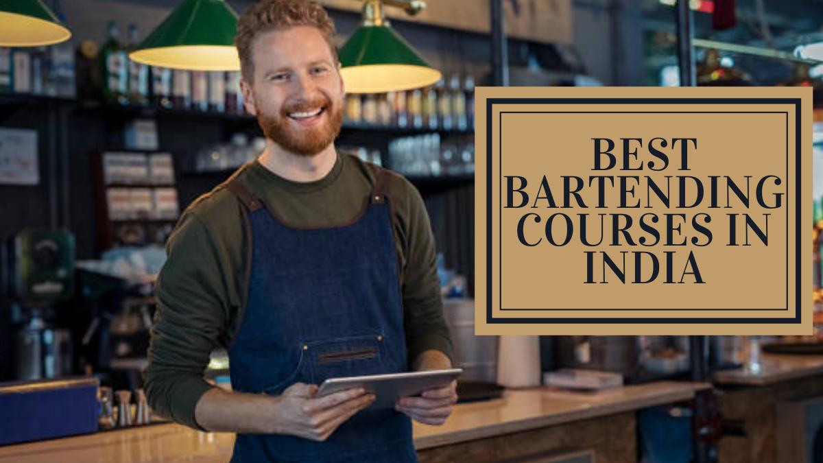 Best Bartending Courses in India