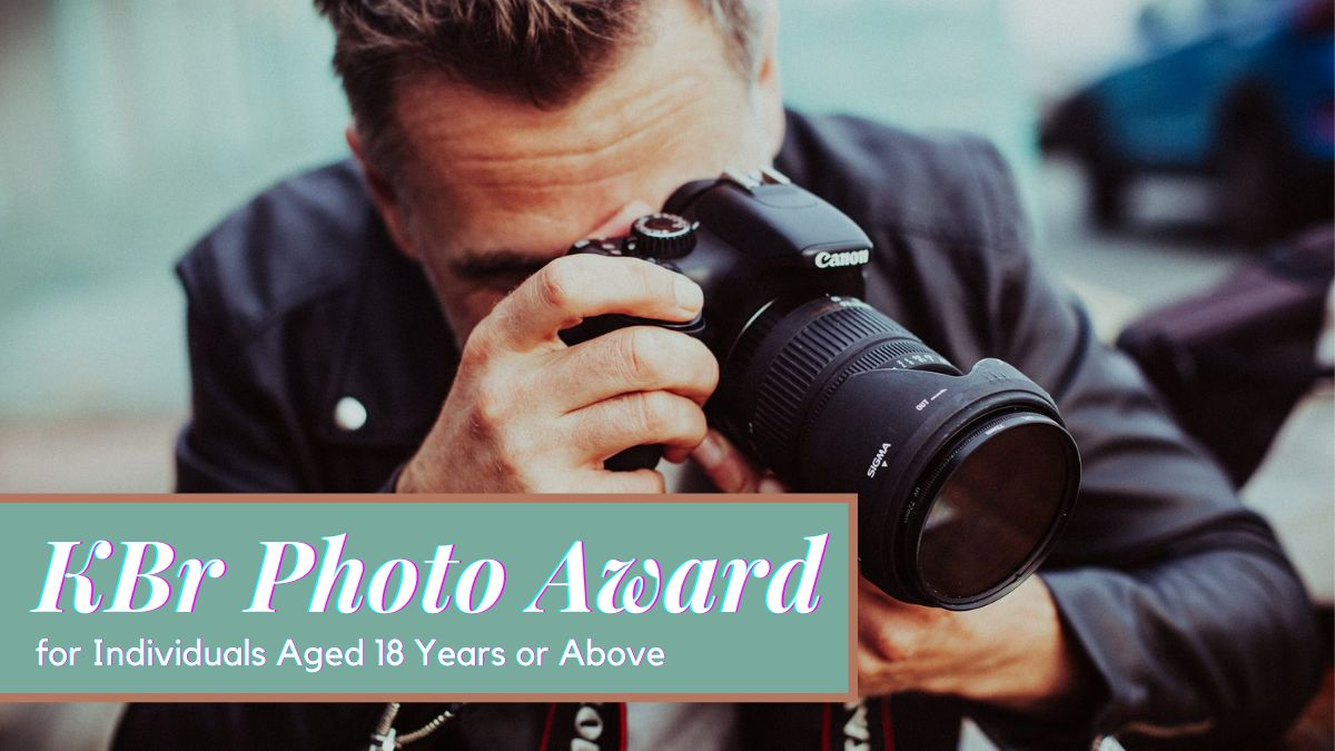 KBr Photo Award for Individuals Aged 18 Years or Above