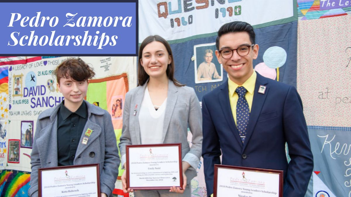 Pedro Zamora Scholarships for High School Seniors and College Students