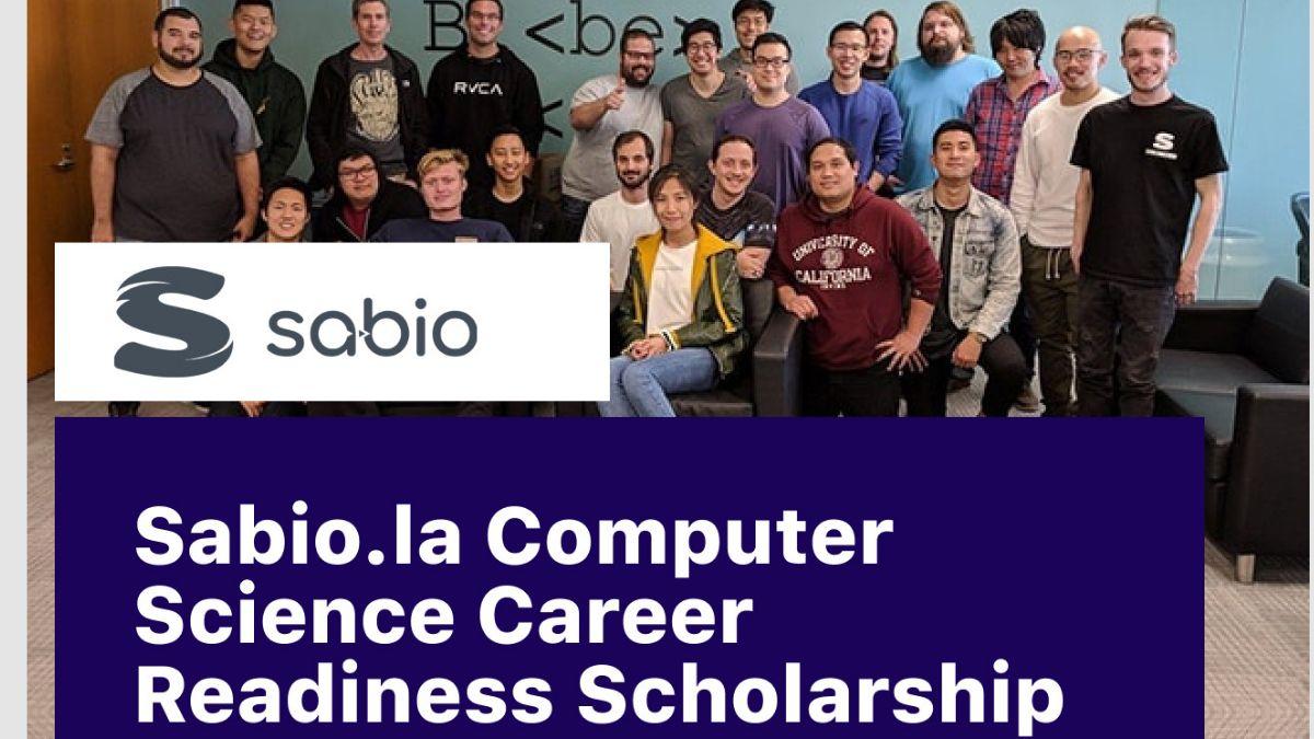 Sabio Computer Science Career Readiness Scholarship for Undergraduates