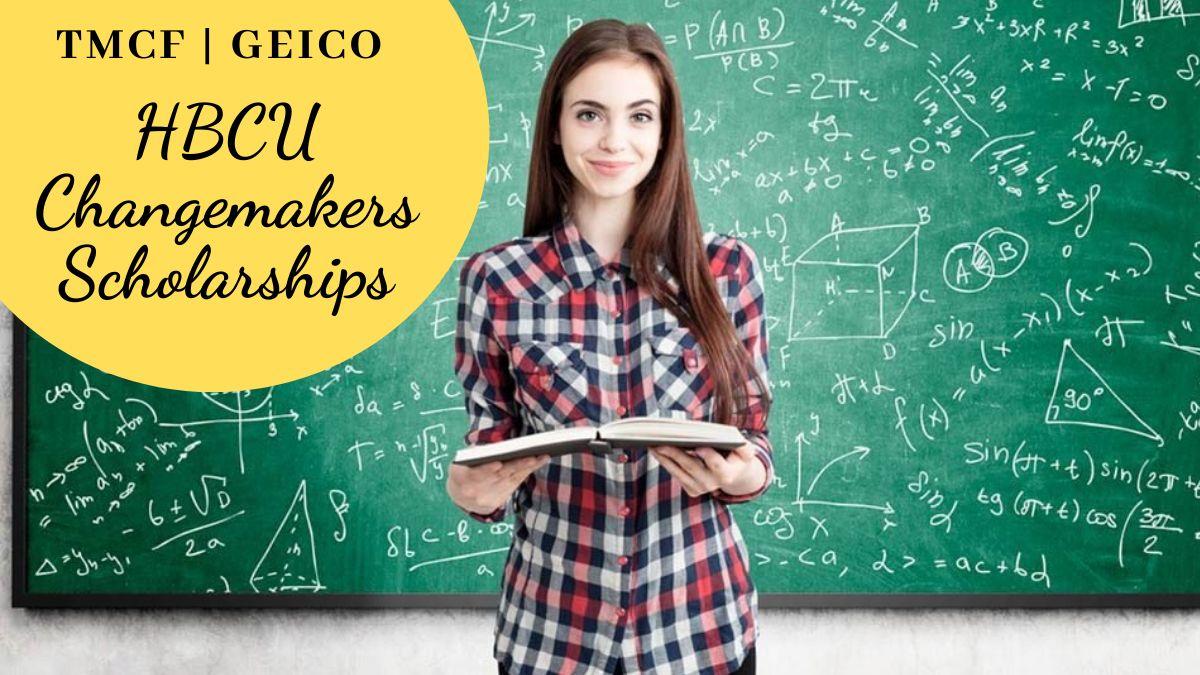 TMCF Geico HBCU Changemakers Scholarships