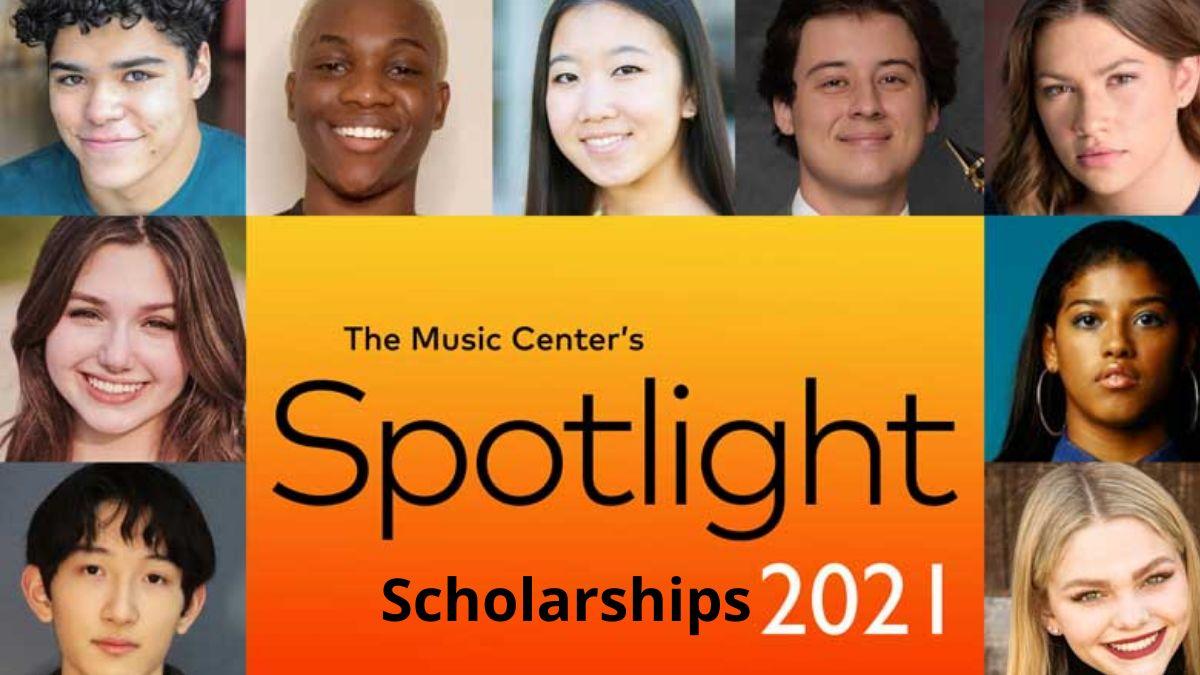 The Music Center's Spotlight Arts Scholarships for High School Students