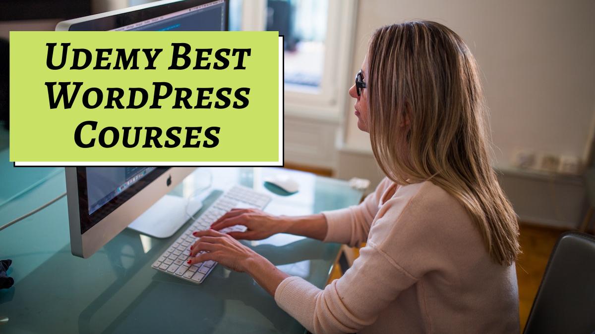 Udemy Best WordPress Courses