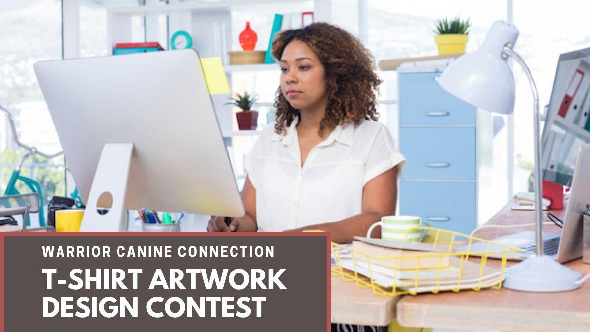 Warrior Canine Connection T-Shirt Artwork Design Contest