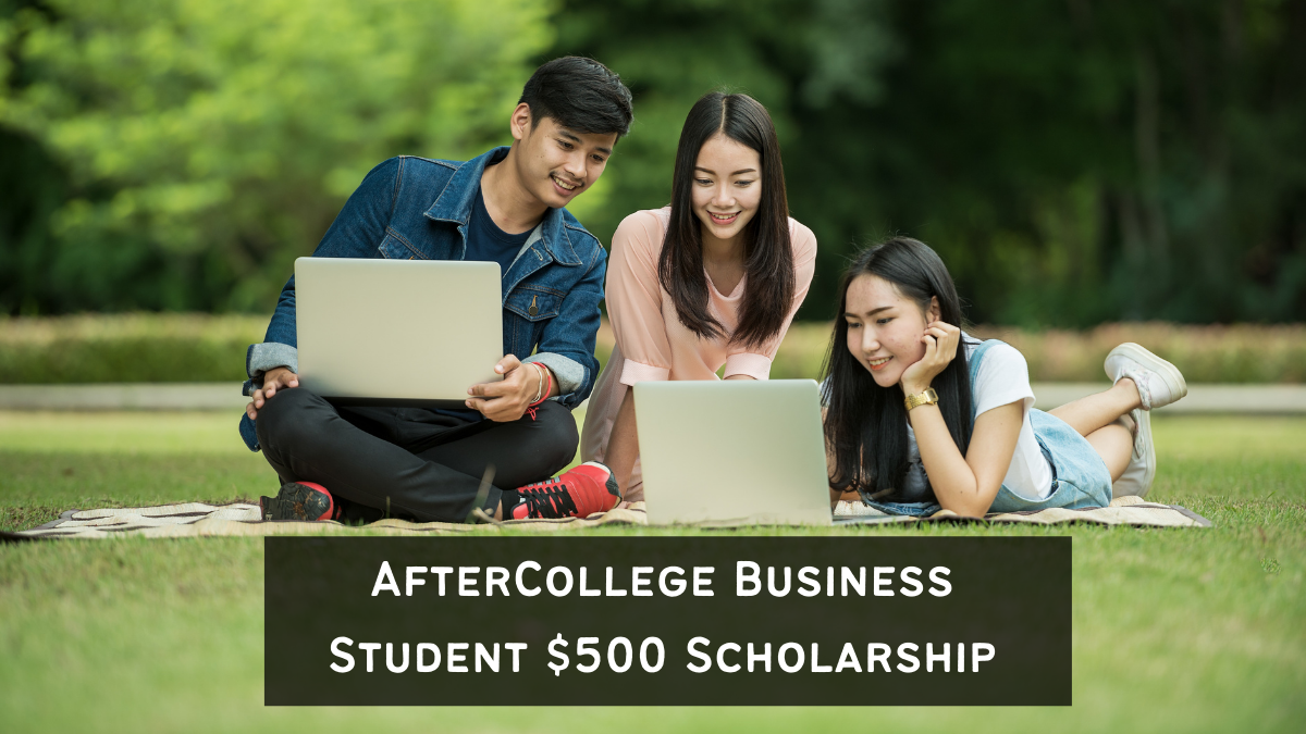 AfterCollege Business Student $500 Scholarship