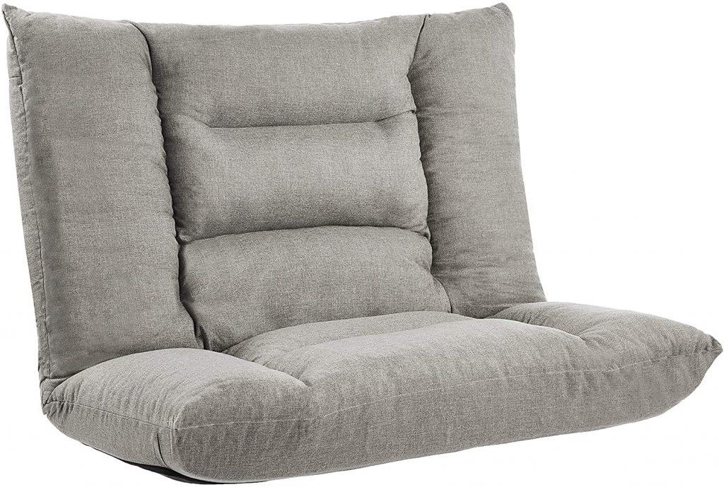 Amazon Basics Adjustable Foam Floor Couch for Dorms