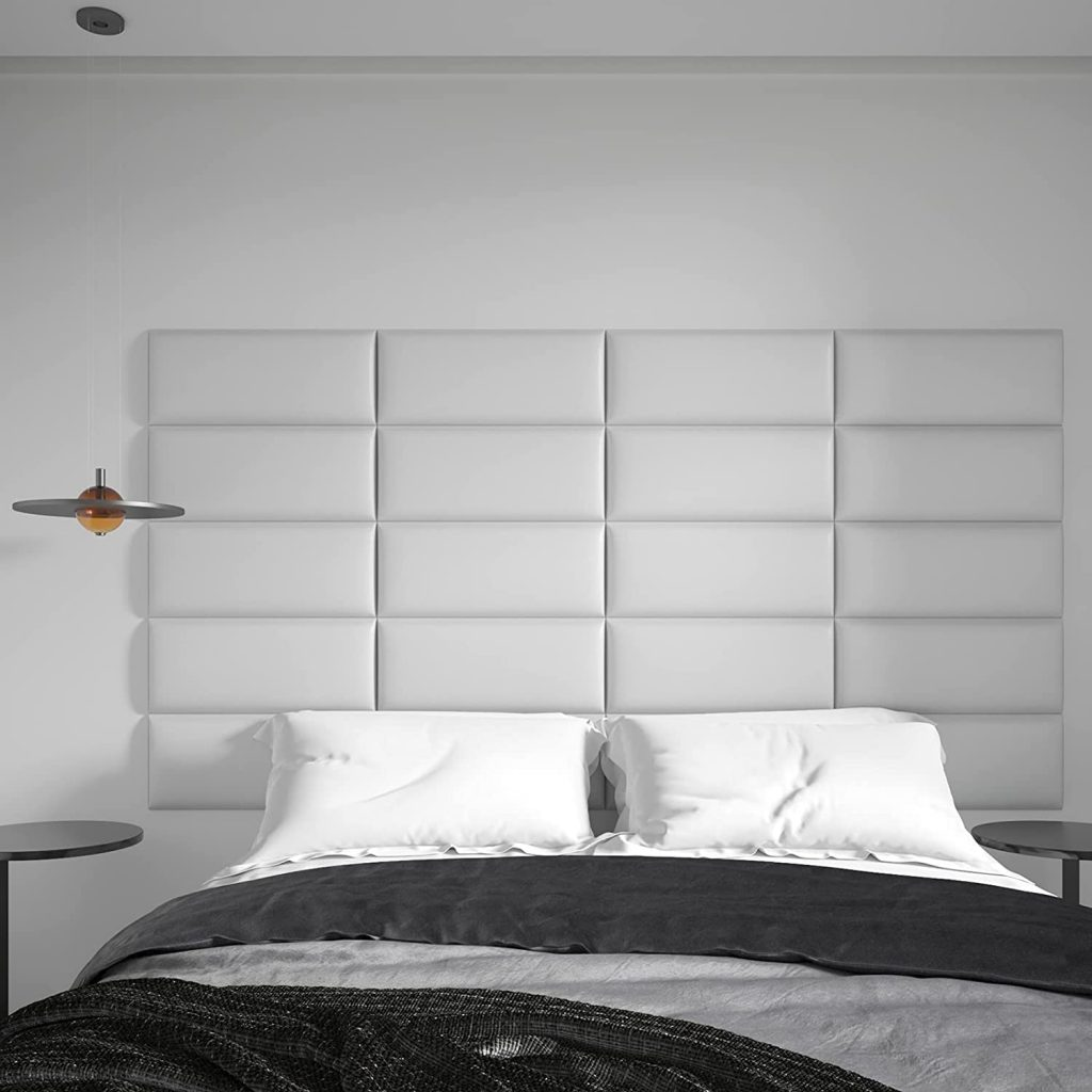Art3d Peel and Stick Headboard for Twin in White