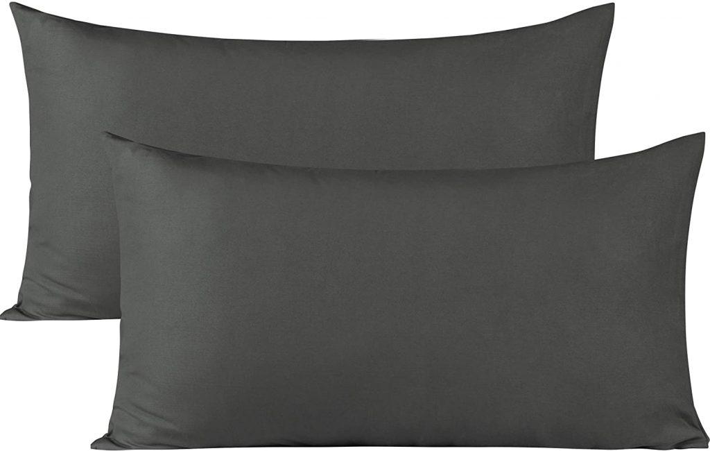 BEDSUM Microfiber Pillowcases Set of 2 with Envelope Closure