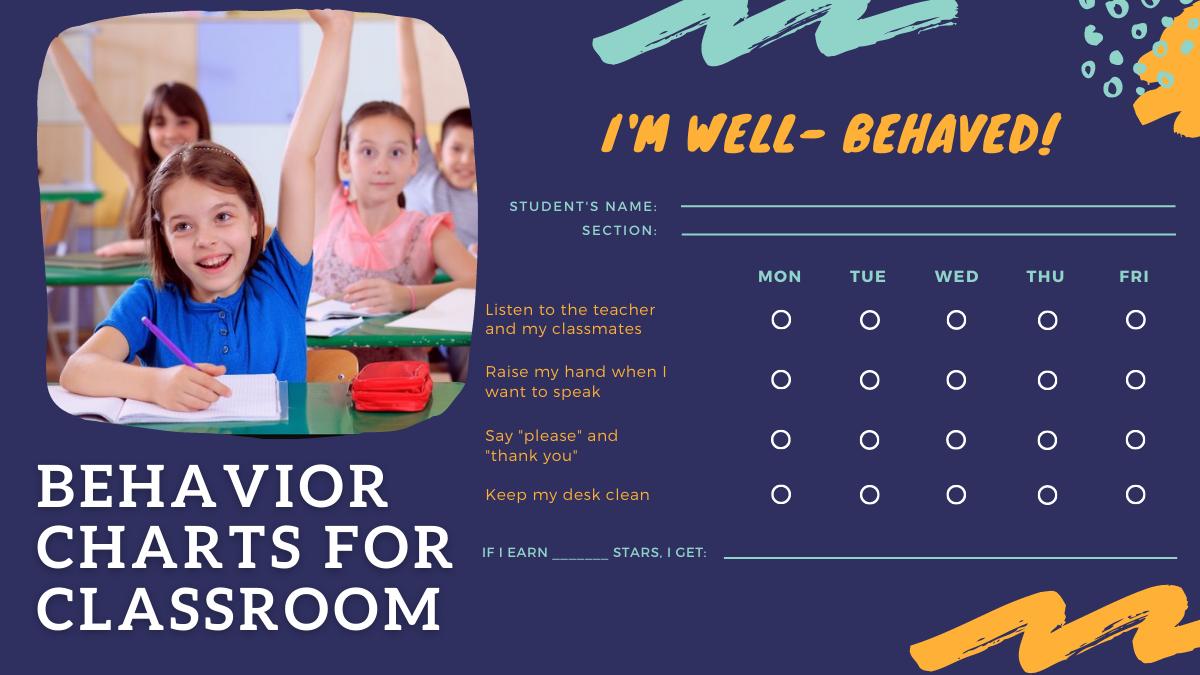Behavior Charts for Classroom