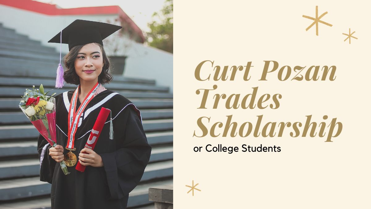 Curt Pozan Trades Scholarship for College Students
