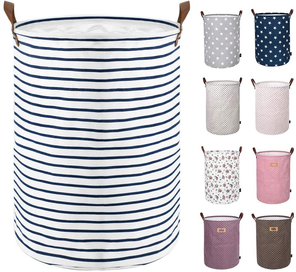 DOKEHOM 18-Inches Freestanding Laundry Basket with Lid