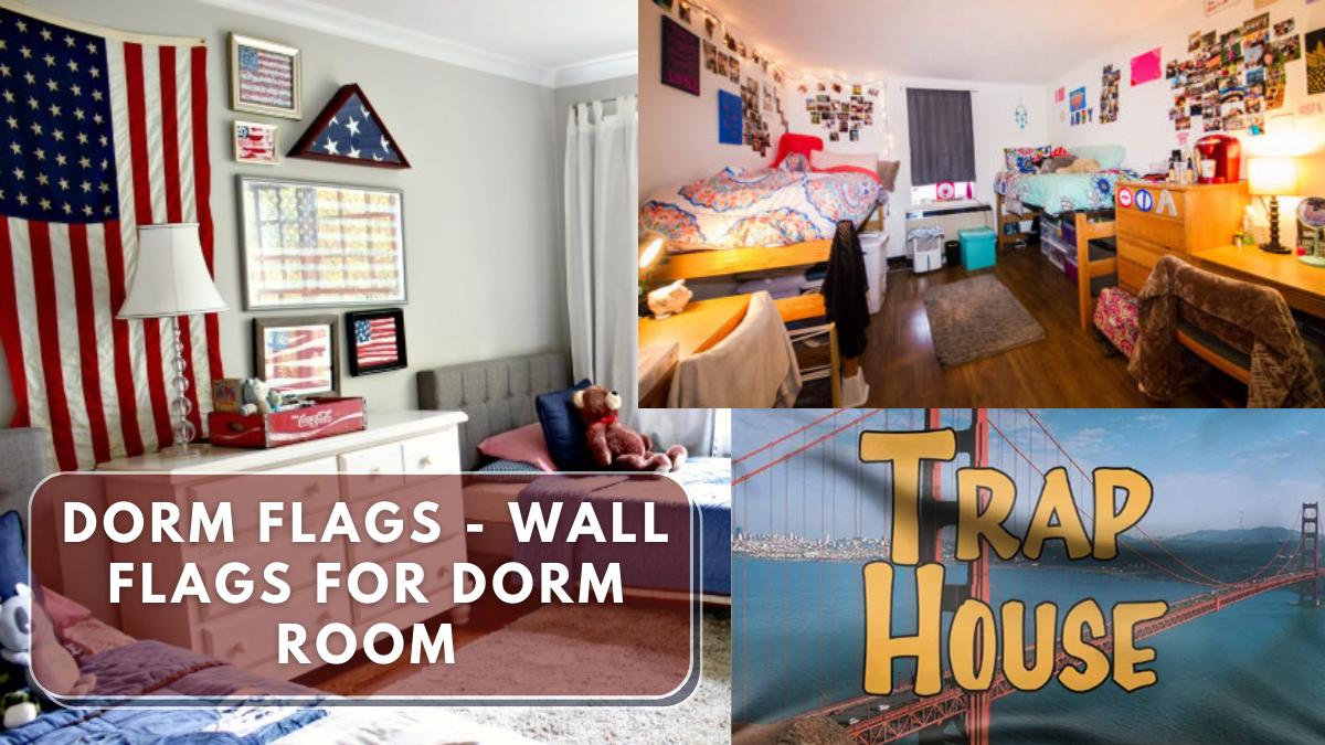 Dorm Flags - Wall Flags for Dorm Room