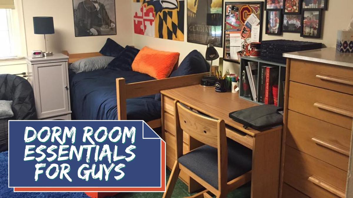 Dorm Room Essentials for Guys