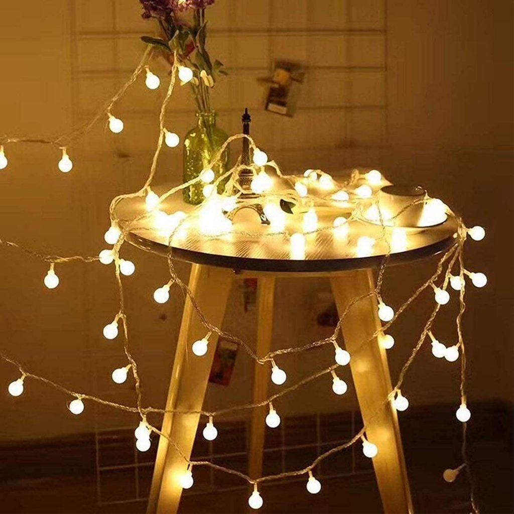 Dorm String Lights with 49 Feet 100 LED Bulbs