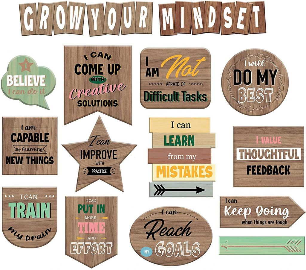 Home Sweet Growth Mindset Classroom Decorations